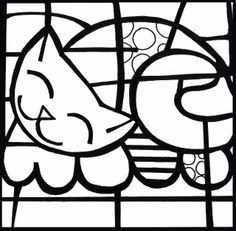romero britto coloring pages - 100 images - stunning romero britto . Abstract Coloring Pages, Colouring Pages, Coloring Books, Splat Le Chat, Pop Art, Arte Pop, Elements Of Art, Art Plastique, Elementary Art