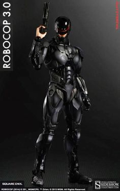 #onTOYSREVIL: #Robocop 3.0 by Square Enix / Play Arts [KAI]