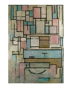Piet Mondrian - Composition with Color Areas