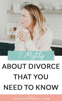 In a perfect world, divorce wouldn't happen. But women who are going through it deserve to have support and understanding. Here are 7 myths about divorce that you need to know! Good Marriage, Happy Marriage, Marriage Advice, Relationship Advice, Relationships Are Hard, Relationship Problems, Healthy Relationships, Growing Apart, I Have Spoken