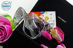 #Occhiali da sole D&G Dolce&Gabbana #Eyewear #Sunglasses: modelli retrò, grandi e avvolgenti, con decorazioni che richiamano i dettagli e i colori della natura.