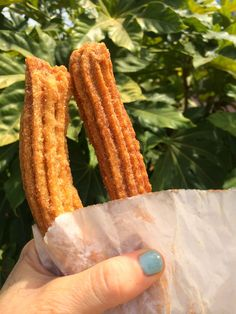 Vegan churros. No healthier for you, but at least they are better for the planet :)