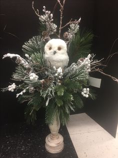 Winter woodland Collection, 2016 floral design, Tara Powers Michaels of Midlothian, Va.