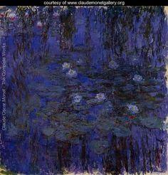 Water-Lilies2 1916-1919 - Claude Oscar Monet - www.claudemonetgallery.org