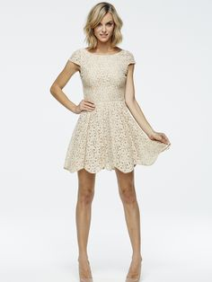 Paper Crown - Matador Dress in Blush Lace - $259.00 : A.sweeT., Life Is Not Complete Without A.sweeT.