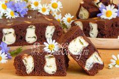 Шоколадно-творожный пирог Лисьи норы