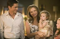 Rob Lowe and Calista Flockhart in Brothers & Sisters