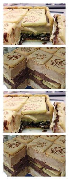 Torta de Biscoito salve este pin Em um liquidificador, coloque 150 ml de vodca, 1 lata de creme de leite, 1 lata de licor de chocolate #bolo#torta#doce#sobremesa#aniversario#pudim#mousse#pave#Cheesecake#chocolate#confeitaria