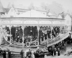 All the fun of the fair Edwardian style, Banbury, Oxfordshire