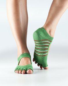 Half Toe Bella Grip Socks (color: ugly Christmas sweater), size M, $16