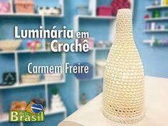 Programa Arte Brasil - 26/01/2015 - Carmem Freire - Luminária em Crochê