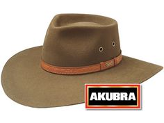 In Navy, Browns, anything but black - My Australian needs one   Akubra hat, And you'll feel like an aussie right away!