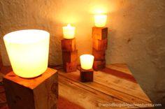 Pallet Block Lamp Woodbugsbigadventures 24