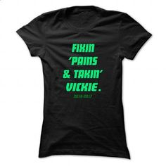 Fixin ... VICKIE - Cool Name Shirt ! - #tumblr hoodie #athletic sweatshirt. I WANT THIS => https://www.sunfrog.com/LifeStyle/Fixin-VICKIE--Cool-Name-Shirt-.html?68278
