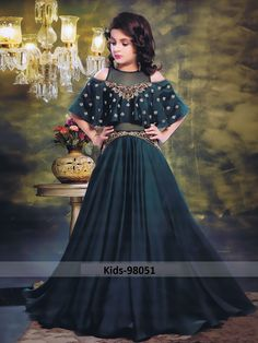 LATEST KIDS GOWN COLLECTION FOR WEDDING AND PARTIES