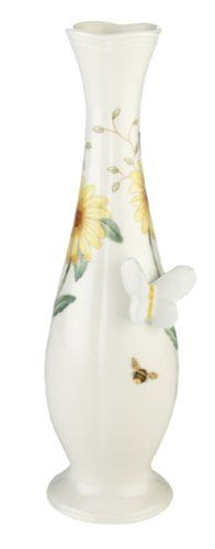 Lenox Butterfly Meadow Bone Porcelain Bud Vase $43.00