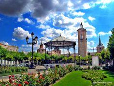 Plaza de Cervantes, Alcala de Henares.