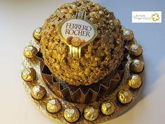 Tarta Ferrero Rocher XXL con Thermomix