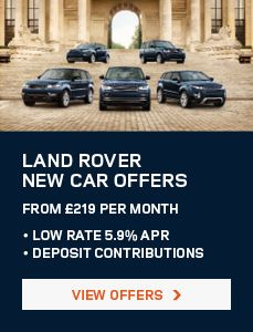 New & Used Land Rover's at Great Prices from Peter Vardy