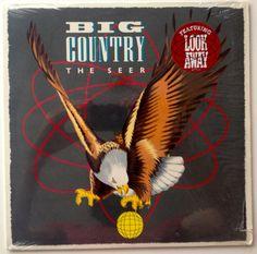 Big Country - The Seer LP Vinyl Record Album Mercury - Pop Rock 1986 Original Pressing Stuart Adamson, Scottish Bands, Big Country, Remembrance Day, Vintage Vinyl Records, Lp Vinyl, Debut Album, Music Bands, Mercury
