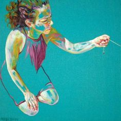 "Saatchi Art Artist Cristina Troufa; Painting, ""Janela"" #art"
