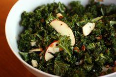 Meatless Monday: Kale, apple, almond and Pecorino salad - CSMonitor.com
