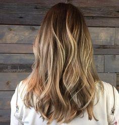 Fácil, todos los días del peinado para el pelo largo - Gorgeous Balayage peinados