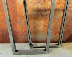 Patas de metal plana bar por SteelImpression en Etsy