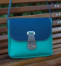LEATHER handbag MESSENGER BAG Leather Bag Leather by CORYSBAGS