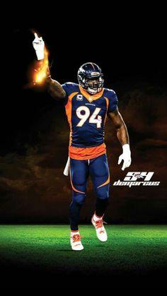 Demarcus Ware ♡ Denver Broncos ♡ Super Bowl Champions