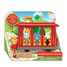 Buy Daniel Tiger's Neighborhood Neighborhood Trolley with Daniel Tiger Figure at the PBS KIDS Shop.