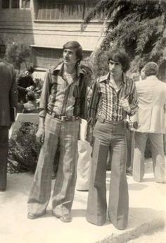 Baghdad - 1972 :) #bellbottoms #flared exactly like my father in Iran at that time
