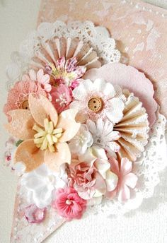 Beautiful paper crafting! (Not really a tag or a card, but gorgeous!!!)