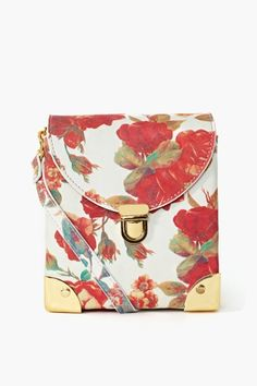 Later Satchel in Floral
