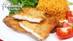 Tavuk Şinitzel Tarifi en nefis nasıl yapılır? Kendi yaptığımız Tavuk Şinitzel Tarifi'nin malzemeleri, kolay resimli anlatımı ve detaylı yapılışını bu yazımızda okuyabilirsiniz. Aşçımız: Sümeyra Temel Iftar, French Toast, Chicken Recipes, Pasta, Dinner Recipes, Mexican, Lunch, Breakfast, Ethnic Recipes