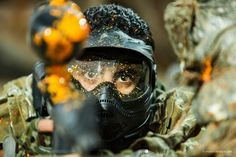 Get stoked! In the heat of the game. Paintball, Team Building, Outdoor Activities, Hiking Boots, Have Fun, Game, Friends, Amigos, Gaming
