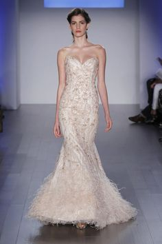 Wedding gown by Lazaro