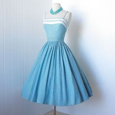 Blue gingham.... So lovely!