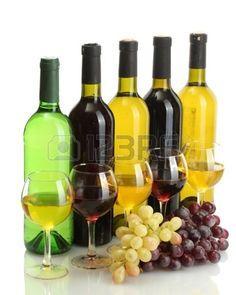 stillevencompositie - Google zoeken White Wine, Red Wine, White Stock Image, Food Photo, Grape Vines, Wine Rack, Harvest, Alcoholic Drinks, Stock Photos