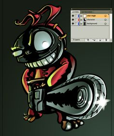 this tutorial will show you how to create a cell shaded character in adobe illustrator