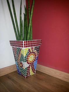 Vaso de mosaico - Mosaic vessel