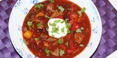 Chili con carne med skært kød