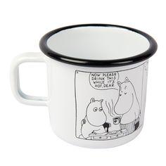 Moomin Shop mug Comic Moomin Shop, Moomin Mugs, Nice Things, Cool Kitchens, Comics, Tableware, Illustration, Ideas, Dinnerware