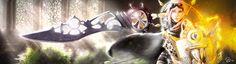 Keeper of Time by Pistefix.deviantart.com on @DeviantArt  #digitalpainting #digitalart #fantasy #finalfantasy #lightning #character