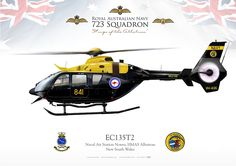 ROYAL AUSTRALIAN NAVY 723 Squadron. Naval Air Station Nowra, HMAS Albatross, New South Wales (Australia)