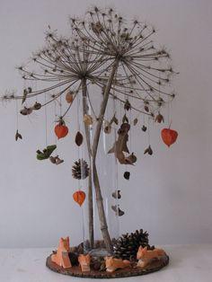 Oct 1, 2014 - De Fantastische Mevrouw Vos: seizoenstafel Winter Table, Autumn Table, Waldorf Crafts, Waldorf Dolls, Autumn Nature, Autumn Art, Autumn Crafts, Nature Crafts, Christmas Tree Accessories