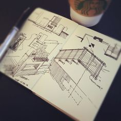 Remodel options #coffeesketch #Architecture