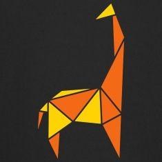 origami animals: tall giraffe Sweatshirts