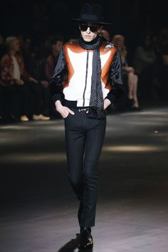 Saint Laurent Fall 2016 Menswear Fashion Show