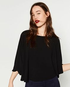 Image 2 of FLOWING LAYERED TOP from Zara